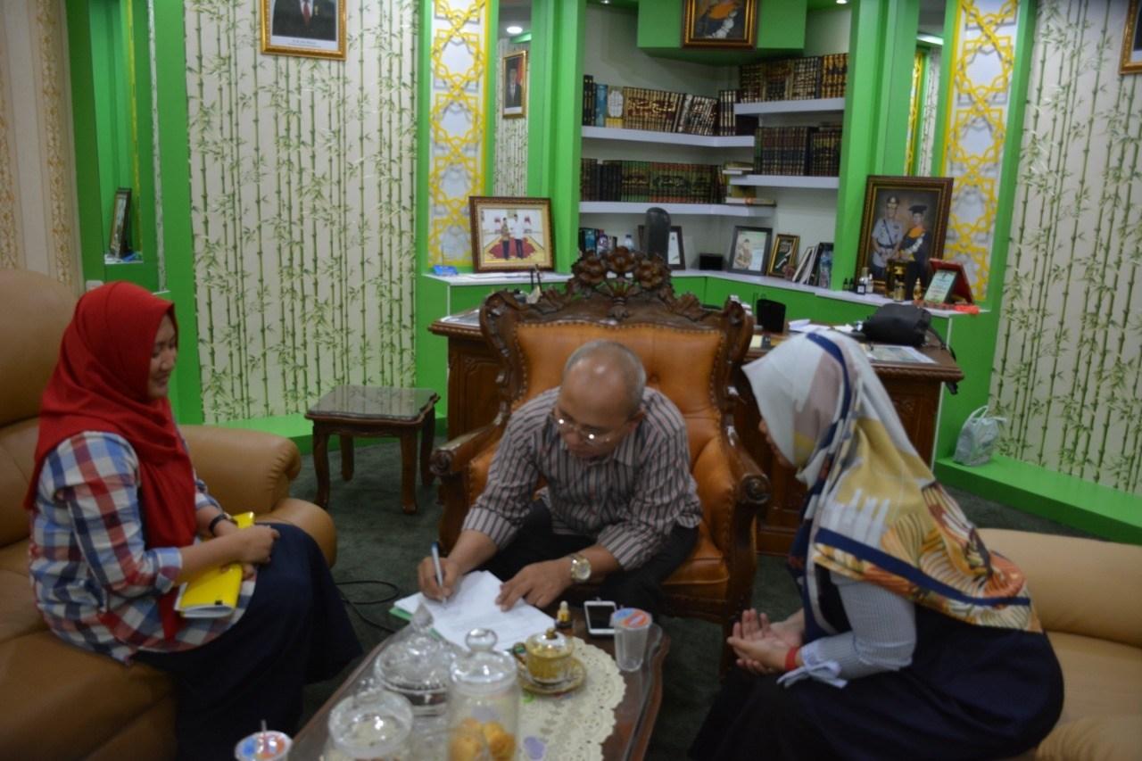Rektor IAIN Pontianak Apresiasi Proyek Perubahan Kasubbag LPM