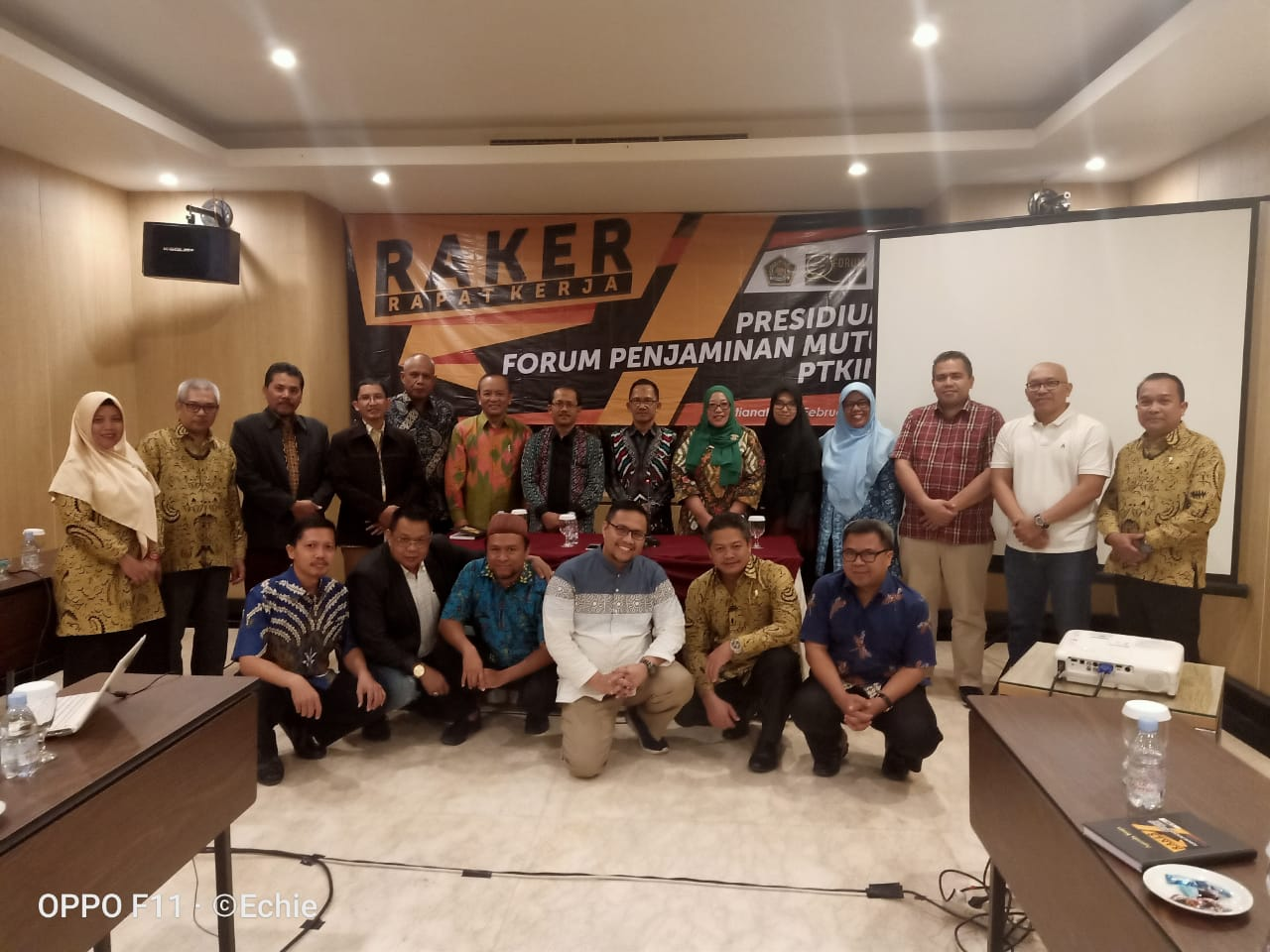 FASILITASI RAPAT KERJA PERTAMA FORUM PRESEDIUM LPM PTKIN SE-INDONESIA