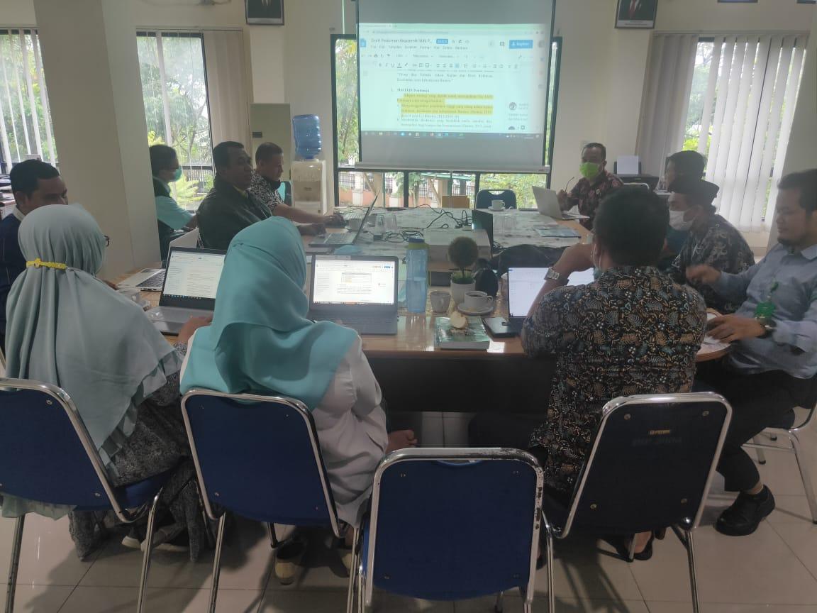 LPM Siapkan Pedoman Akademik Terbaru Tahun 2020